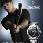Tag Heuer Tells Tiger Time's Up