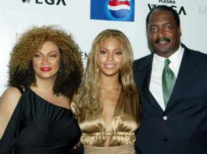 Tina, Beyonce & Mathew Knowles