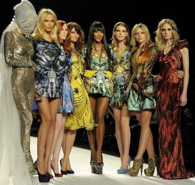naomi campbell 2010. Naomi Campbell (4th, left) is