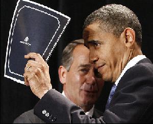 obama & boehner