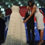 Michelle Obama Presents Inaugural Gown to Smithsonian