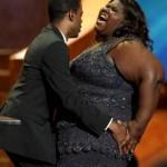 Photo: Chris Rock Gets Handsy with Gabby Sidibe