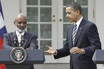 President Rene Preval & President Obama
