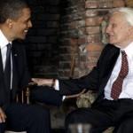 Obama and Graham Grab a Prayer