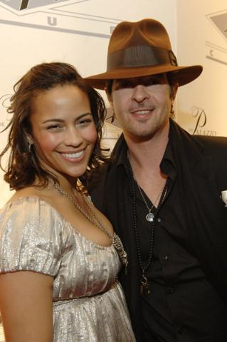 Paula Patton & Robin Thicke