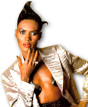 Singer-actress-model Grace Jones is 63 today
