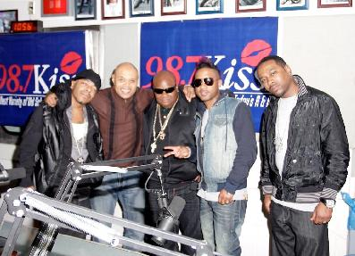 Dru Hill stops by KISSing After Dark with Lenny Green, to get him