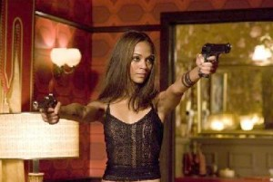 Zoe Saldana in 'The Losers'