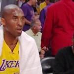 Video: Kobe Ignores Chris Rock during Game 1