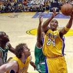 2010 NBA Finals: Lakers Over Celtics 102-89 in Opener