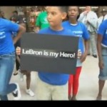 Video: Flash Mob for LeBron James Must Work