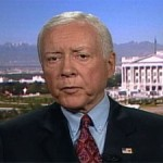 Orrin Hatch Wants the Unemployed Drug Tested