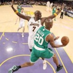 Video: Allen and Rondo Lift Celtics Over Lakers in Finals Game 2