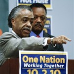 Sharpton and Jackson Downplay NAACP, Tea Party Issue