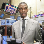 Chris Bosh Heckled During NYSE Visit