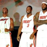 Video: Miami Welcomes LeBron, Wade and Bosh