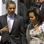 Mr. and Mrs. Obamas Under the Gun