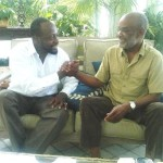 Wyclef Meets with Haiti's President Preval