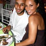Photo: Newlyweds Alicia Keys, Swizz Beatz Out to Dinner
