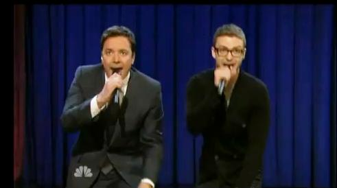 fallon timberlake Jimmy Fallon And Justin Timberlake Rap Medley