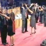 Video: Married Couples Get Their Groove On While Praising the Lord