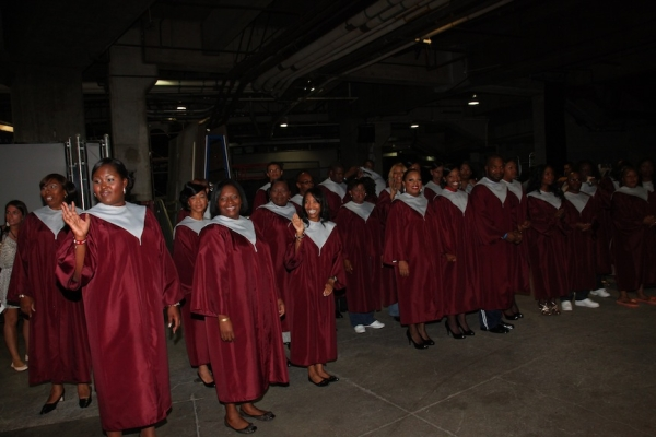 Choir prepares for the competition