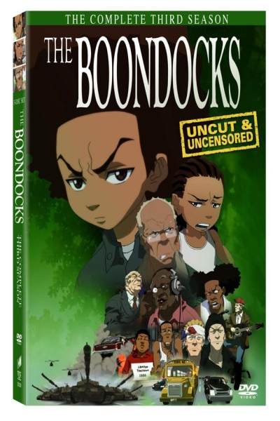 In the third season of the Boondocks cartoon show, Aaron McGruder