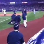 Video: Man Attempts to Attack A-Rod on Field