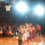Video: Pepperdine Basketball Player Dunks Over 7 People