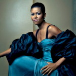 Michelle Obama in Vogue's Top Ten Fashion Divas