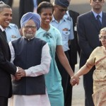 Video/Photos of Obamas in India: Dancing, Hopscotch, Bare Feet, more