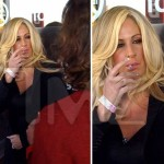 Photo: Kim Zolciak Caught Smoking While Pregnant
