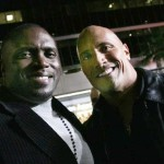 'Faster' Actor Lester Speight Does Red Carpet with Dwayne Johnson