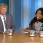 Video: Nigel Lythgoe's Sarah/Bristol Palin Smackdown on 'The View'