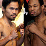 Sugar Shane Mosley to Fight Manny Pacquiao in May