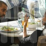 Eva Longoria and Tony Parker Meet for Lunch
