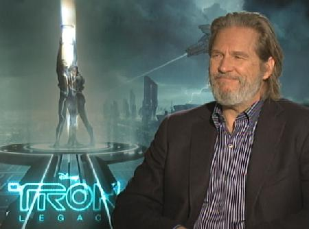 jeff bridges tron young. Jeff Bridges: #39;Tron: Legacy#39;