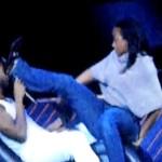 Video: Usher Kicked in the Face by Fan