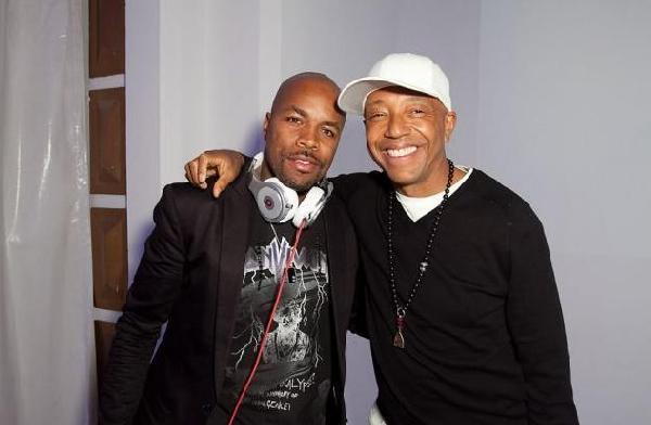 russell simmons 2011. DJ D-Nice, Russell Simmons