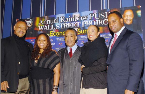 Rev. Jesse L. Jackson, Sr., Lalah Hathaway, Rev. Al Sharpton, Santita Jackson, Jonathan Jackson