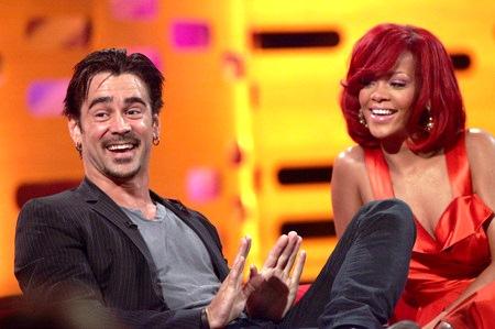 Report Rihanna Sexting Actor Colin Farrell Eurweb
