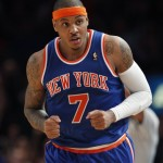 Photos: Carmelo Solid in NY Debut; LaLa Glad to be Home