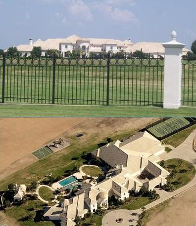 Money problems deion sanders trying to sell mega mansion for Super mega mansions