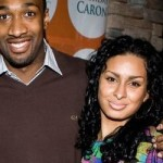 Arenas Gets Served at Halftime by Baby Mama Laura Govan