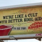 Indiana Restaurant Ad Equates Drinks To Lethal Jonestown Massacre 'Kool-Aid'