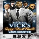 Party Time in Dallas!: Michael Vick Hosts 'Celebrity Superbowl Finale'