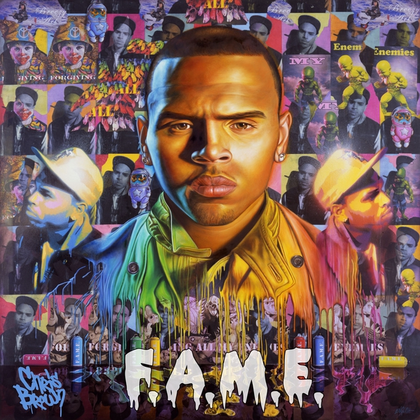 Chris Brown FAME album cover 11 Chris Brown Still Predicted To Be Number 1