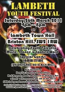 Lambeth Youth festival flyer