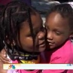 9-Year Old Girl Saves Little Sister from Pick-Up Truck (Video)