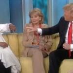 Video: Trump vs. Whoopi over Obama's Birth Certificate